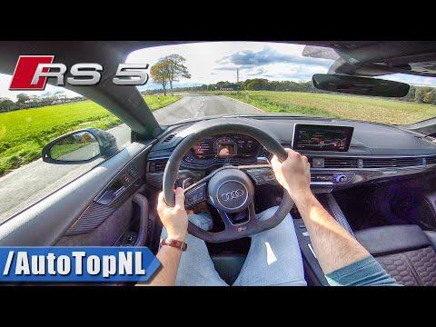 2020 AUDI RS5 SPORTBACK 2.9 V6 BiTurbo POV Test Drive by AutoTopNL