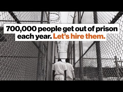 700,000 people get out of prison each year. Let's hire them.   Johnny C. Taylor, Jr.