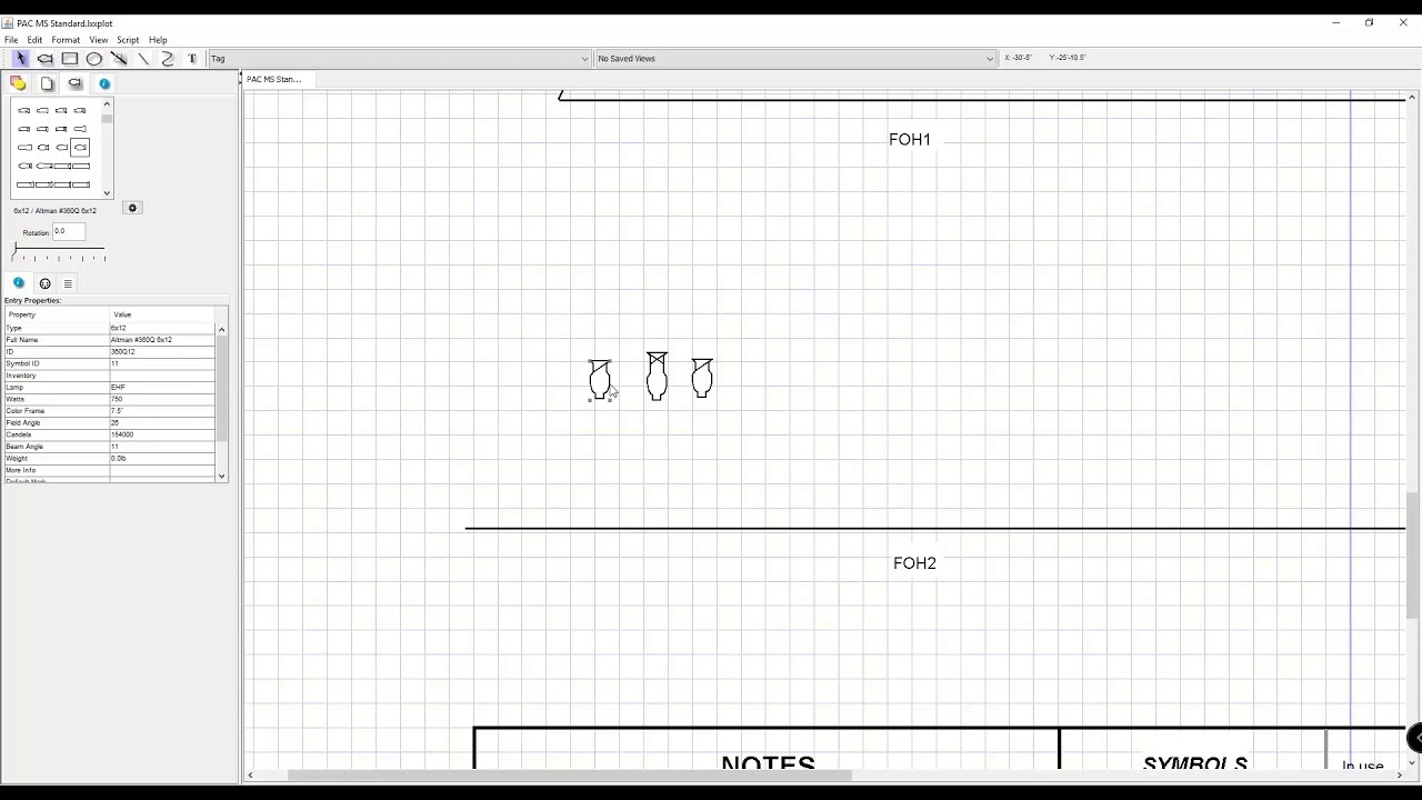 how to create a light plot in lx free youtube