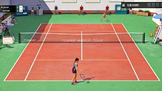 Tennis World Tour - Career Mode Gameplay #1 (1080P/60FPS)