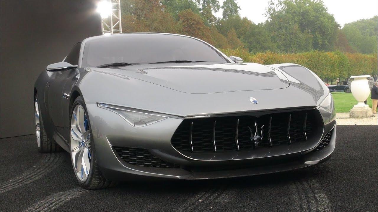 Maserati Alfieri Concept 2015 - YouTube