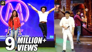Tiger Shroff,Nidhi Agarwal FUNNY Moments On The Kapil Sharma Show During Munna Micheal Promotions