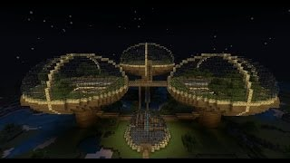 Minecraft Huge Wheat Farm (The Wheat Domes)