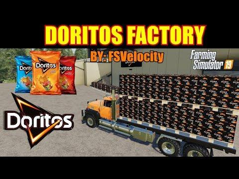 Doritos Factory Placeable Mod Review Farming Simulator 19