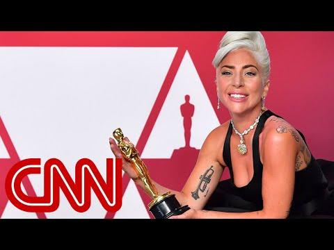 Lady Gaga's emotional Oscars message Mp3