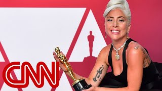Lady Gaga's emotional Oscars message