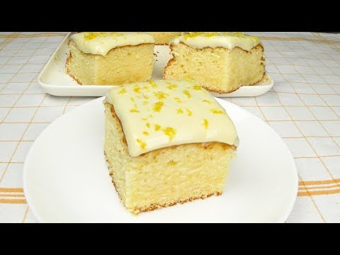 Простой и вкусный лимонный пирог | Simple And Delicious Lemon Pie