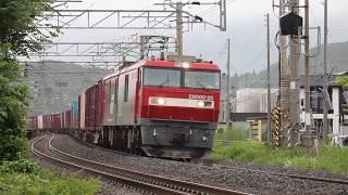 青い森鉄道 EH500形3067レ 小柳~東青森 2019年6月16日