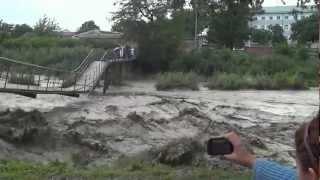 Паводки Наводнение в г.Шали 17.06.2012г..MTS