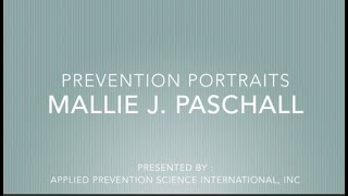 APSI PREVENTION PORTRAITS   MJ PASCHALL