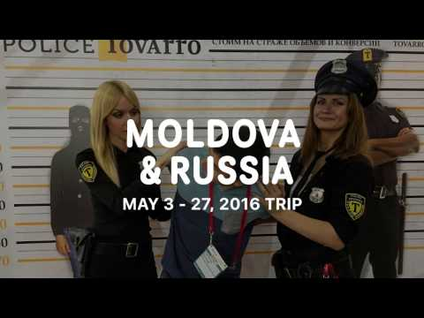 5. Moldova & Russia. May 3-27, 2016 Trip