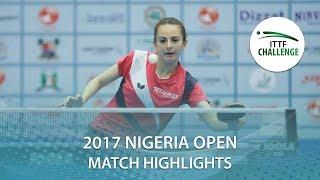 2017 Nigeria Open Highlights: Dina Meshref vs Giorgia Piccolin (1/4)