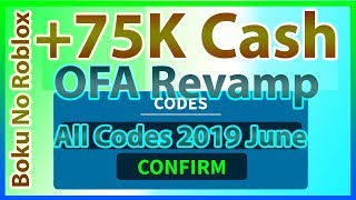 All Codes for Boku No Roblox *75K CASH!! * | OFA Revamp Update | 2019 June