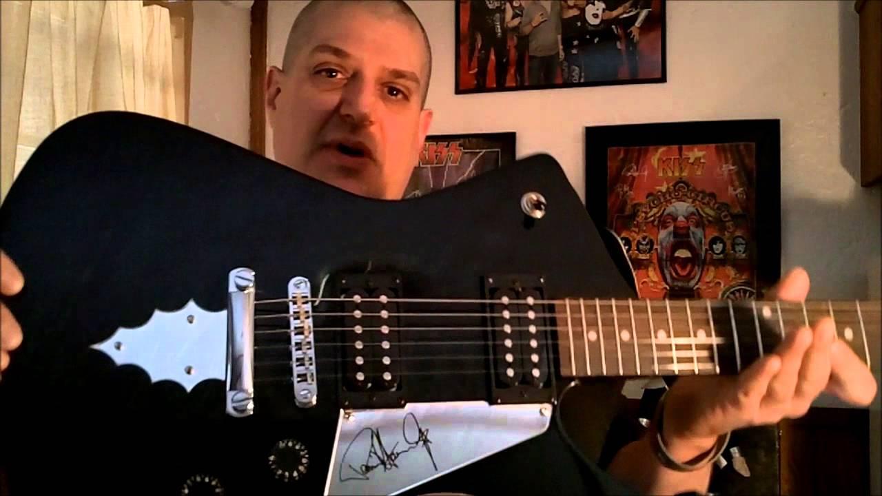 ibanez paul stanley electric guitar 2015 youtube. Black Bedroom Furniture Sets. Home Design Ideas