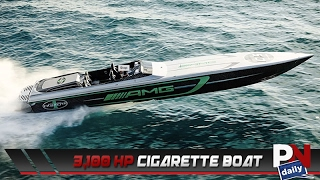 Mercedes Black Series 50 Marauder Cigarette Boat Videos