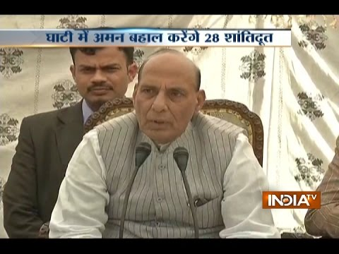 Kashmir separatists don't believe in insaniyat or Kashmiriyat: Rajnath Singh