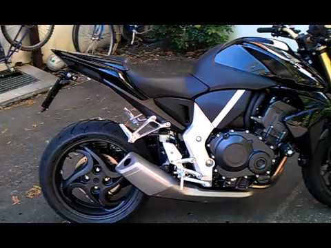2011 honda cb1000r quotall black limited editionquot youtube