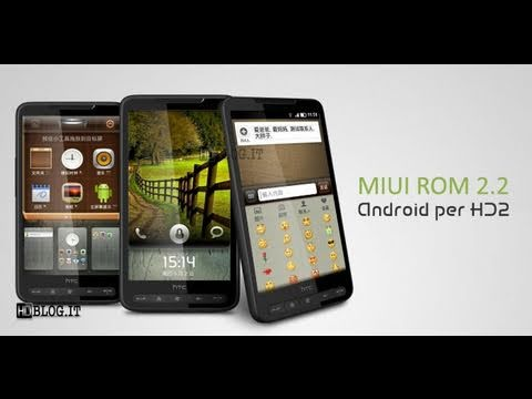 Android 2.2 MIUI Version On Htc HD2 !! Benchmark And Test