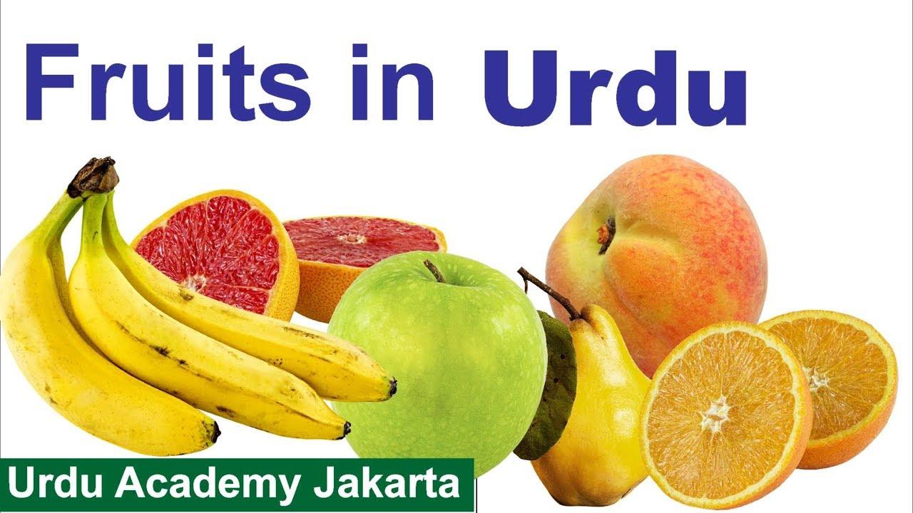 Learn Names of Fruit in Urdu Language - Urdu Vocabulary