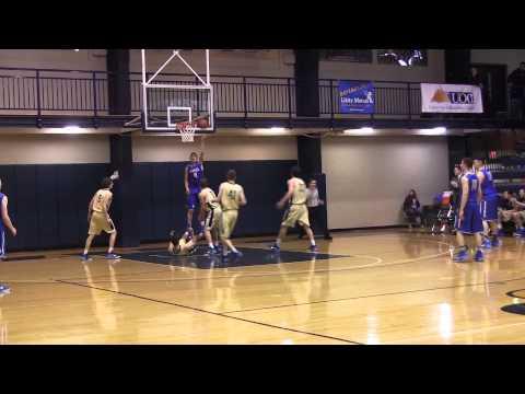 2015 Juniata College Men's Basketball vs US Merchant Marine Academy