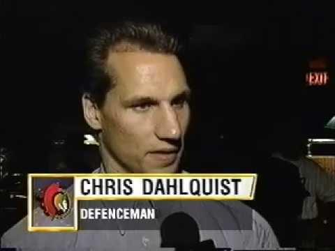 NHL: Ottawa Senators Lockout Meeting (1994)