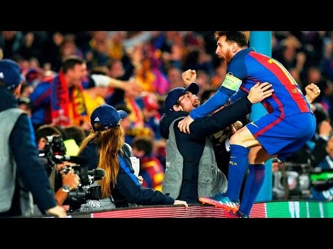 Messi Goes WILD after The Greatest Comeback Ever in Football ● Barcelona 6-1 PSG