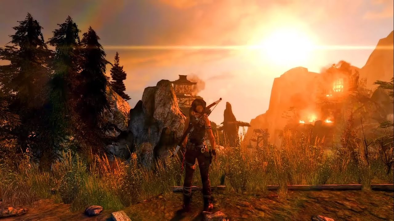 Rise of the Tomb Raider Walkthrough Gameplay Part 9   2020