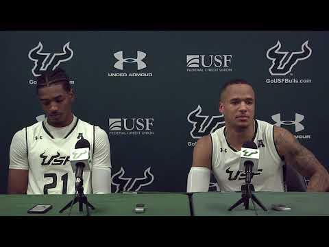 USF Men's Basketball: Post Game Press Conference - Stephan Jiggetts and Tulio Da Silva