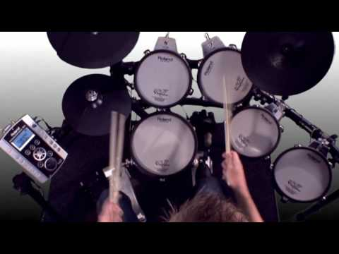 Kits Sounds On The Roland Td 9kx Electronic Drum Kit Youtube