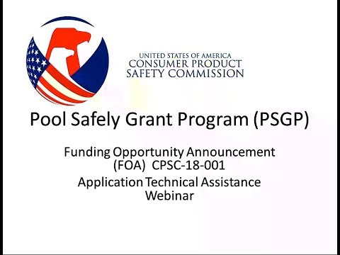 CPSC Pool Safely Grants Webinar