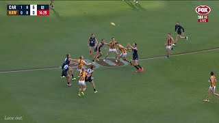 Carlton Vs Hawthorn All Goals And Highlights First Half | Round 9 2020