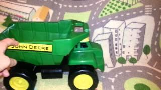 I&K's toys: John Deere Big Scoop Dump Truck