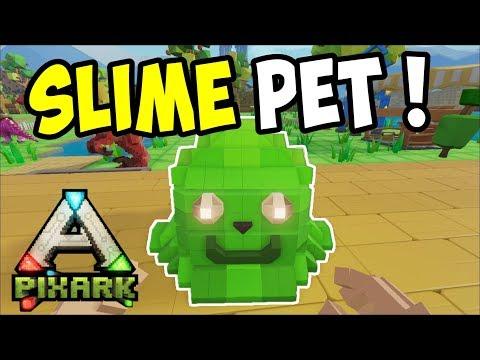 PixArk - TAMING MAGICAL BEASTS and SLIME PET - PixARK Gameplay - Ep. 3