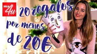 20 regalos por menos de 20 euros   Con Sylvia Salas
