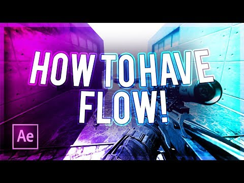 """How To Have """"Flow"""" On Your Montage/Edit! (How To Make A Montage #1)"""