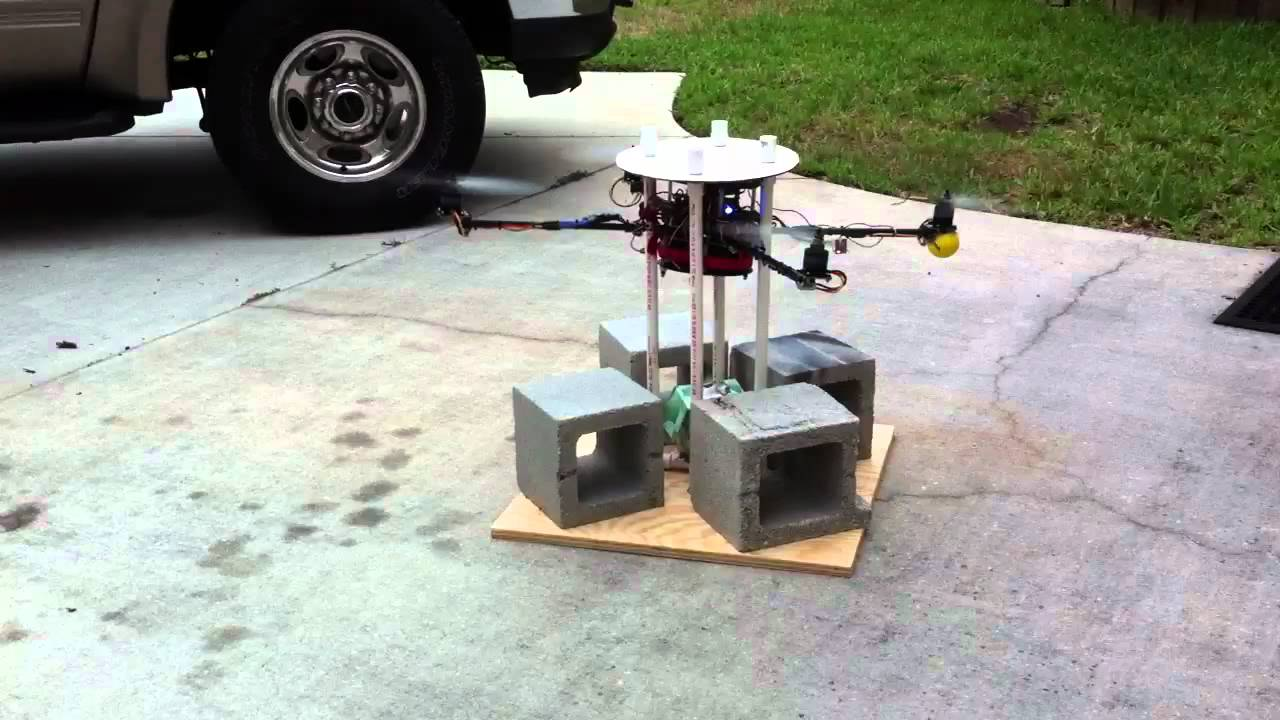 quadcopter test stand youtube. Black Bedroom Furniture Sets. Home Design Ideas