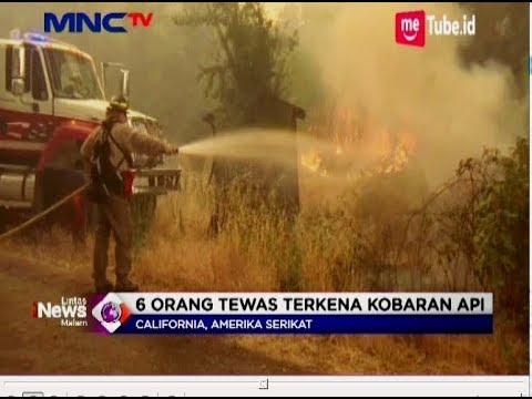 Kebakaran Hutan di California Tewaskan 6 Orang, 14 Ribu Warga Mengungsi - LIM 31/07 Mp3