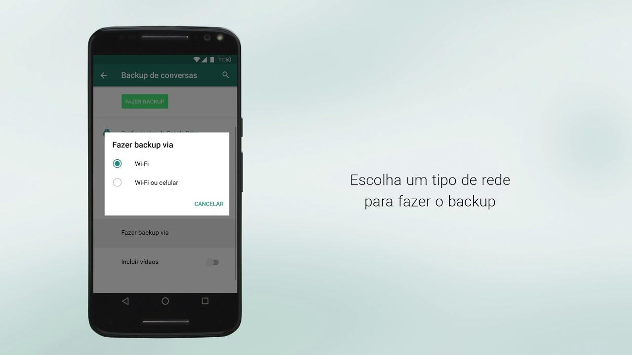 Perguntas Frequentes Do Whatsapp Como Fazer Backup No Google Drive