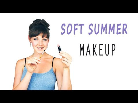 Color Analysis Soft Summer Makeup Youtube