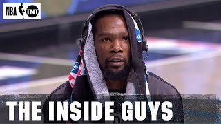 Kevin Durant Joins Inside the NBA After His First Game With the Brooklyn Nets | NBA on TNT