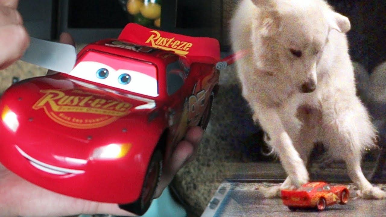 DOGS VS LIGHTNING MCQUEEN REMOTE CONTROL (KODA PEES) - SCS #115