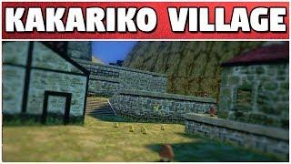 Kakariko Village In Odyssey | Super Mario Modyssey