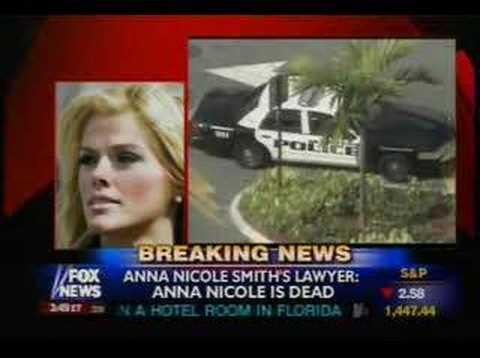 Anna Nicole Smith dead death died  Report