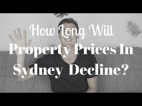 How Long Will Property Prices In Sydney Decline?