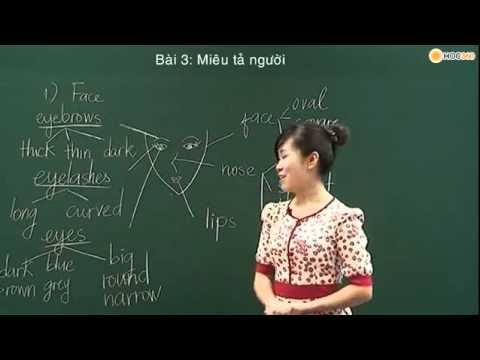 Bài: Miêu tả ngoại hình - p1 - giasutre.edu.vn.flv