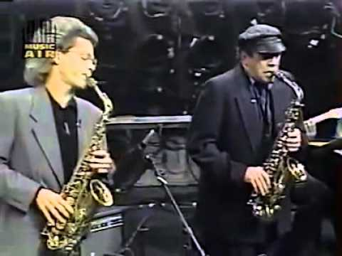 Phil Woods and David Sanborn from Night Music, 1988