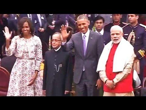 President Obama's tea at Rashtrapati Bhavan
