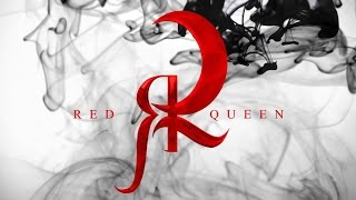 RED QUEEN - NAKED - OFFICIAL LYRICS VIDEO - former Demona Mortiss
