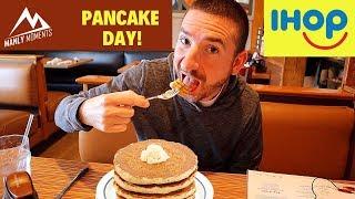 Free Pancakes on Pancake Day at IHOP!