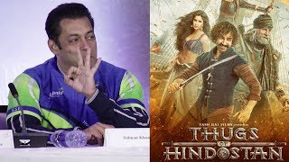 Salman Khan Reaction Thugs Of Hindostan Official Trailer | Aamir Khan, Amitabh Bachchan